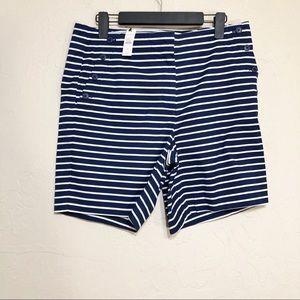 Talbots Striped Shorts 10